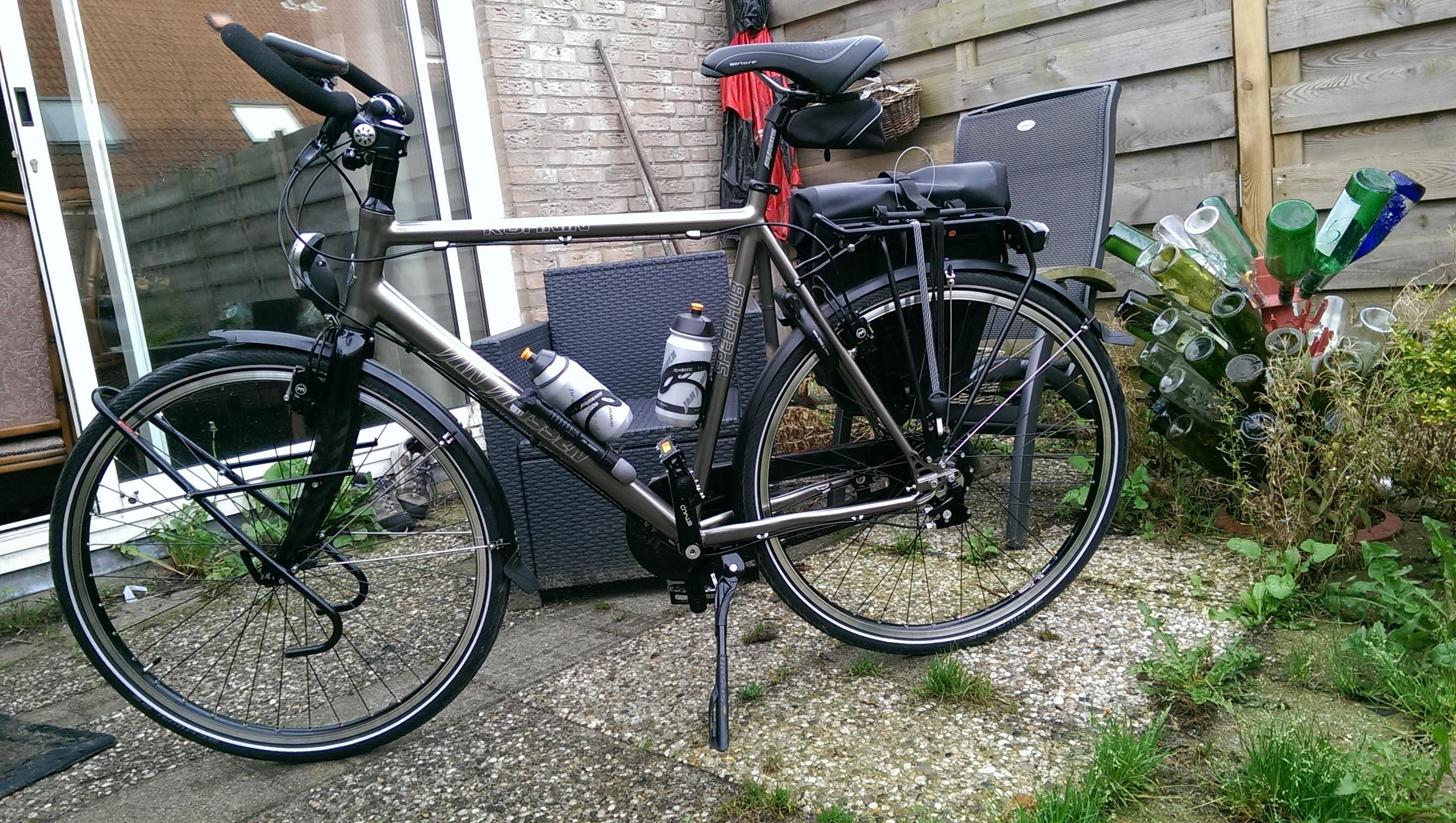 band wisselen elektrische fiets