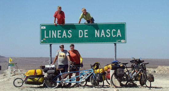 Alaska -> Argentinië met het hele gezin.