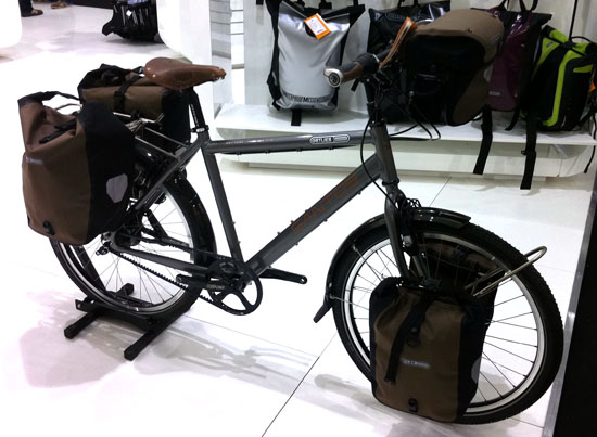 Santos Travelmaster Ortlieb Plus