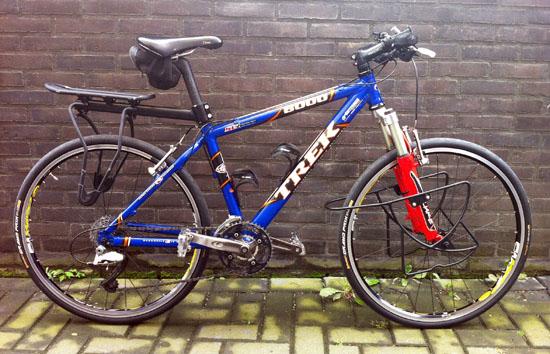 De fietsen van henk en renate sint christophorus for Minimalistische fiets