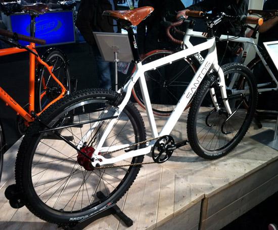 Santos travel lite bike motion 39 11 sint christophorus for Minimalistische fiets
