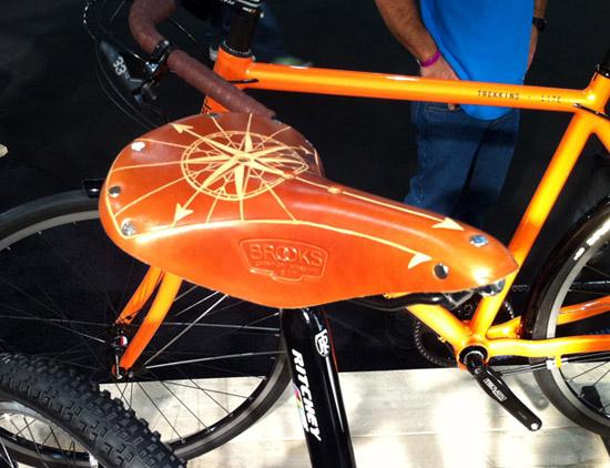 Santos Travel Lite heren met custom-made Brooks zadel
