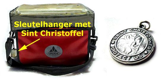 christoffel aan stuurtas