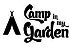 kampeer in mijn tuin