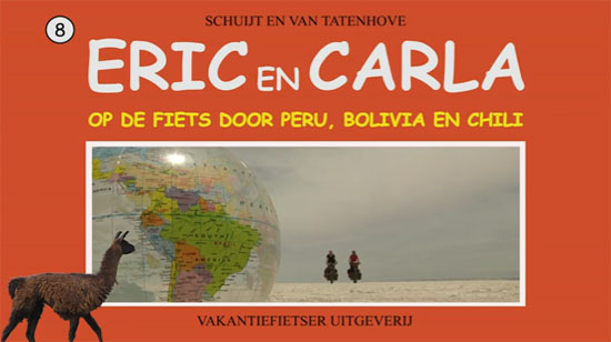 Video: Carla en Eric fietsen in Peru, Bolivia en Chili