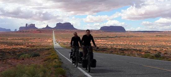 Video: Dennis en Marijcke fietsen door Amerika