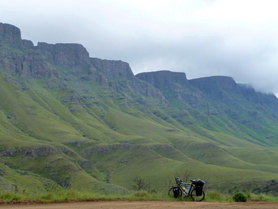 Fietsen in Lesotho