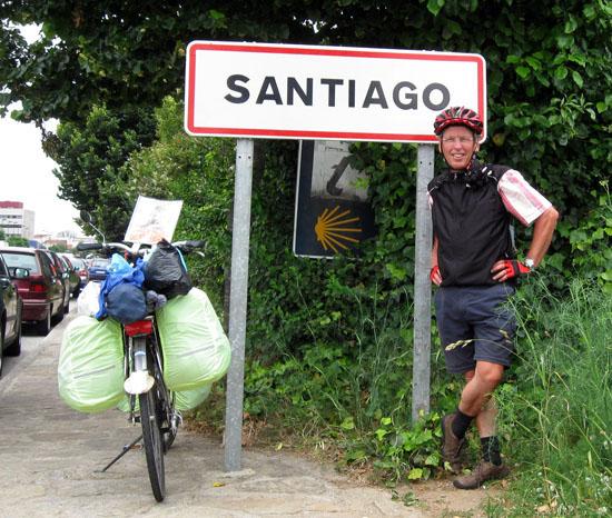 Webtip: Per fiets naar Santiago