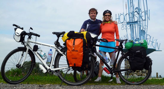 Webtip: Baerbel & Johan's Cycling the World