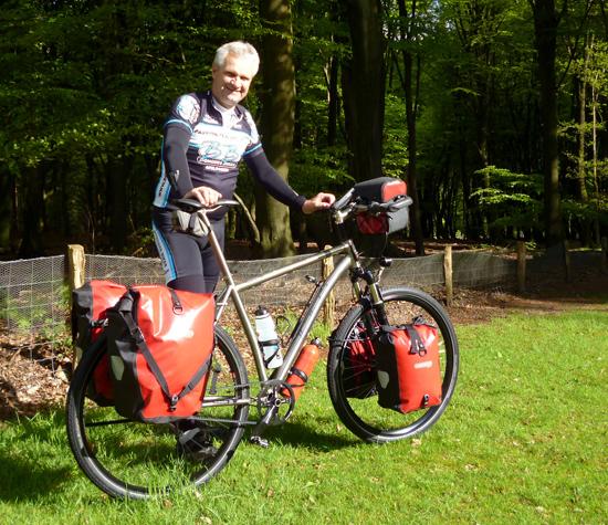De Titanium fiets van Titanium Ton