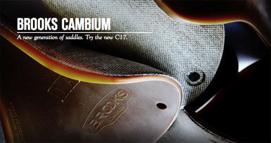 C17 Cambium – Nieuw niet-leren Zadel van Brooks