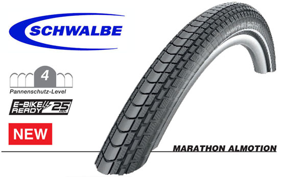 Marathon Almotion – Schwalbe's snelste trekkingband