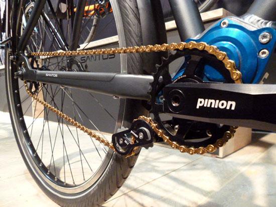 Santos experimenteert ook met Pinion
