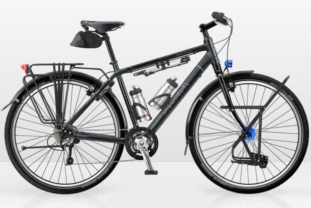 Koga worldtraveller29 in signature met rohloff en pinion for Minimalistische fiets