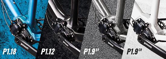 Pinion breidt uit met P1.12 en P1.9