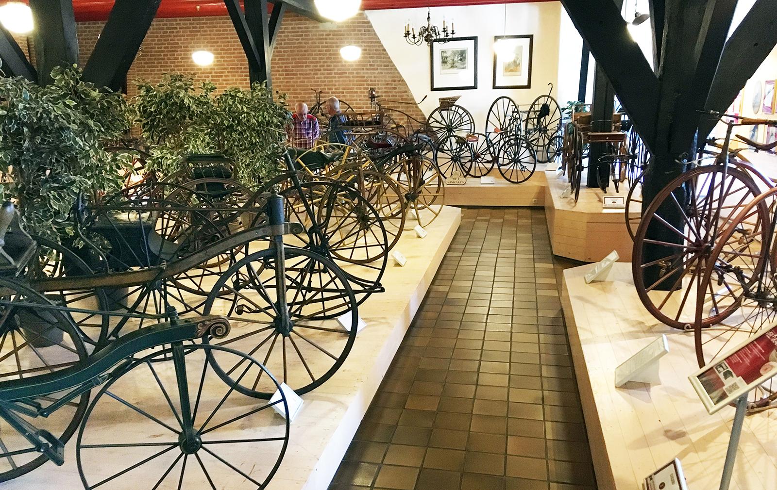 Velorama fietsmuseum Nijmegen