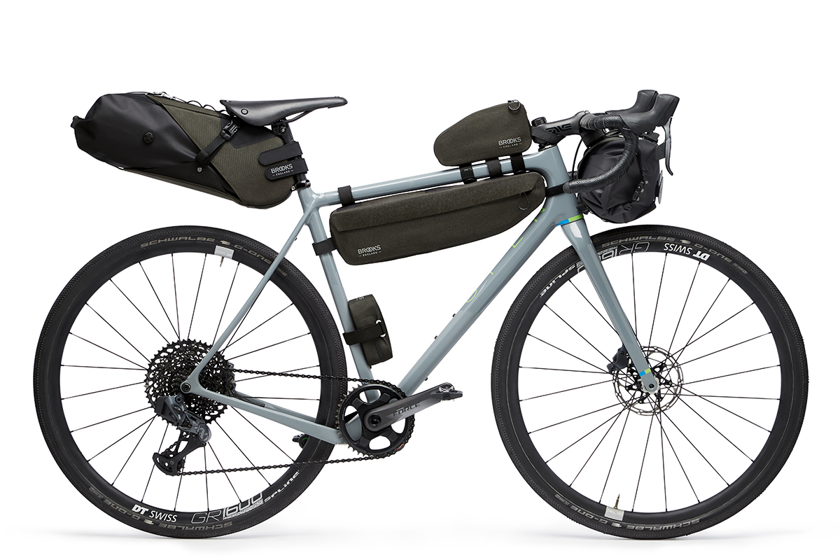 Brooks Scape bikepacking tassen