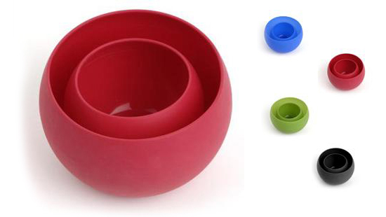 Squishy Bowls: siliconen opfrommelkopjes