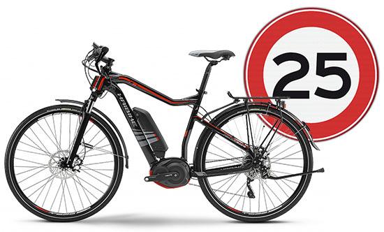 Wetgeving Highspeed E-bike: 25+ km/u tot 2017 verboden