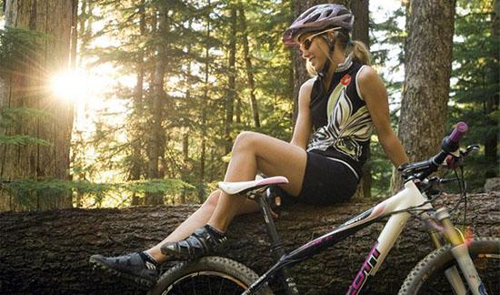 Dames Racefietsen en Mountainbikes bestaan niet