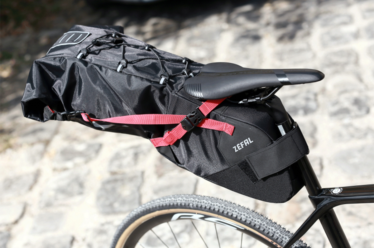 Oók Zéfal gaat bikepacken
